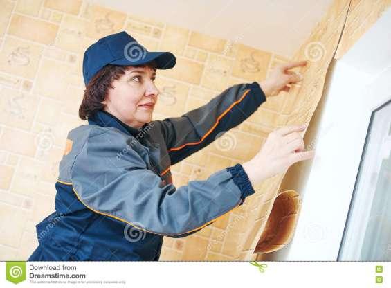 Expertos en instalacion de papel pintado